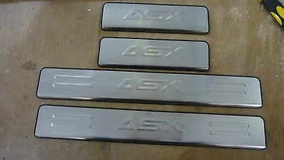 Door Sill Scuff Plate Stainless Steel for Mitsu ASX 2010+