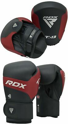 RDX Boxing Pads Training Focus Mitts Punching Gloves Muay Thai MMA Kickboxing