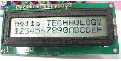 5pcs 1602 16x2 Character LCD Display Module LCM without Backlight