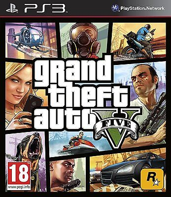 Grand Theft Auto V 5 Gta V 5 Textos Castellano Cd Fisico Ps3