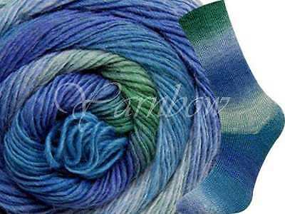 Wisdom Yarns ::Poems Sock #961:: wool yarn Spa Shades