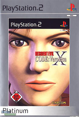 Resident Evil - Code Veronica X PS2 GAME PAL *VGWC!* + Warranty!