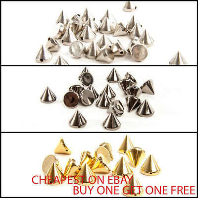 Acrylic Spike Rivets Cone Sew on Studs SPECIAL OFFER** BUY 1 GET 1 FREE