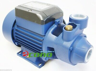ALUMINUM 1/2 HP ELECTRIC WATER PUMP POOL FARM POND Centrifugal BioDiesel