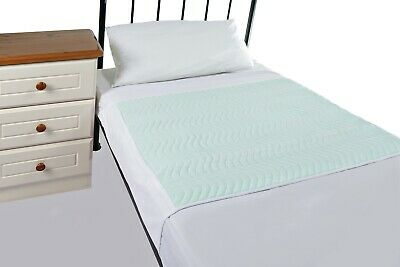 Community 75x90cms, With Wings 3L Washable  Absorbent Bed Pad, twin pack
