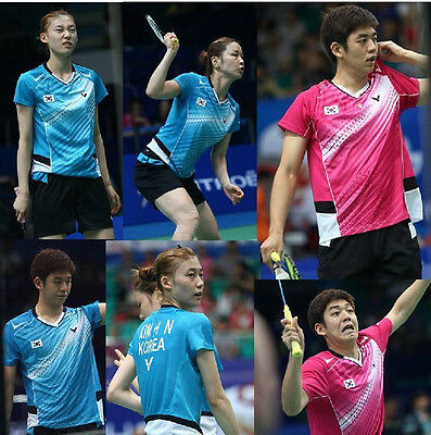 free shipping 2013 Victor women's table tennis /badminton game T-shirt TY098
