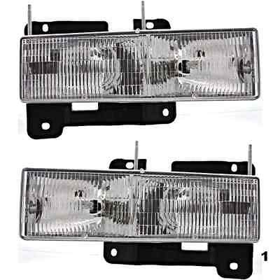 95-99 Chevy Tahoe & 00 Classic Tahoe Left & Right Composite Headlamps (pair)