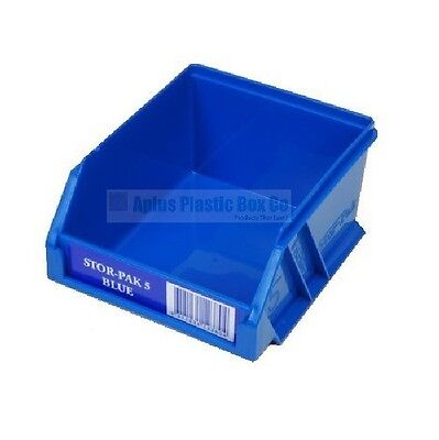 Stor-Pak Size 5 Storage Bin 100% Australian Made - Five Colours Available
