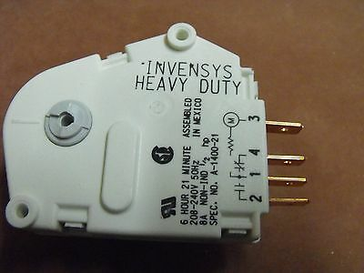 1400-021: Westinghouse Defrost Timer 6 hrsx21mins Heavy Duty (DR118) GENUINE