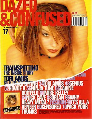 DAZED & CONFUSED #17 Sarah Penman DANNY BOYLE Tori Amos NICK CAVE Trainspotting