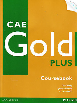 CAE GOLD PLUS Coursebook w CD-ROM & Online iTests Access Code 2013 EDITION @NEW@