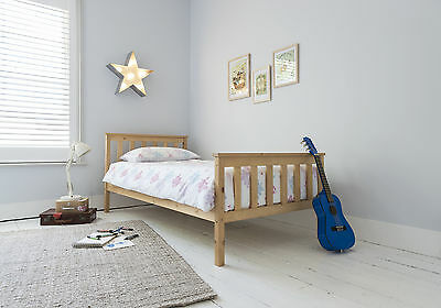 Single Bed Dorset, Wooden Frame. With Choice of Colours