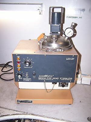 New Brunswick Agarmamatic Bench-Top Agar Sterilizer 120 Vac Model As-3