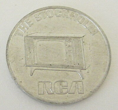 1970 Rca The Stockholm New Model Sweepstakes Token / Coin