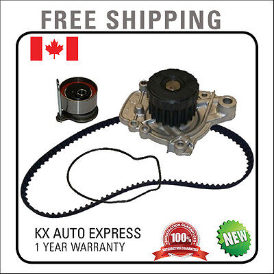 New Timing Belt Kit With Water Pump For Acura El 1.7L 2001 2002 2003 2004 2005