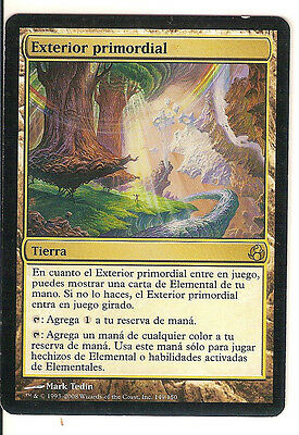 mtg Magic 1x Primal Beyond (Exterior primordial) Spanish NM