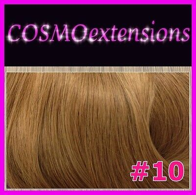 EXTENSIONES CORTINA PELO NATURAL REMY,50-55cm,100 gr., COLOR #10 CASTAÑO CLARO