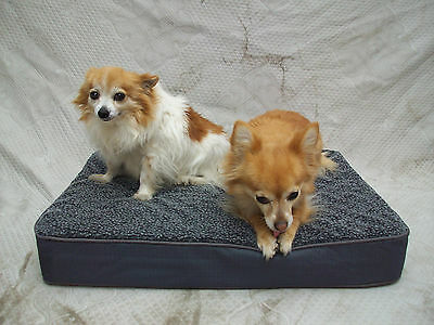 Memory Foam Orthopedic - Small DOG BED Heavy Duty Kennel Mat Four Seasons