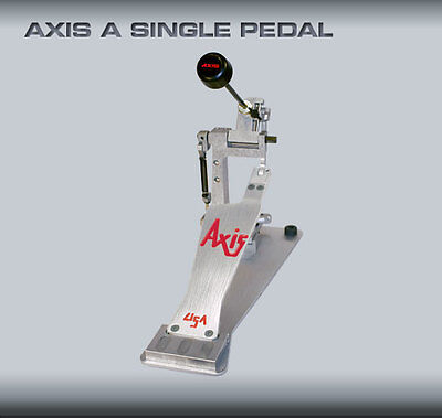 2 New Axis Ax-A Single Kick Drum Pedals  Two Pedals