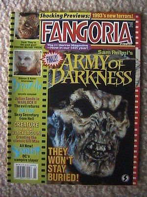 Fangoria Magazine # 120 Army Of Darkness Dracula Creature From The Black Lagoon