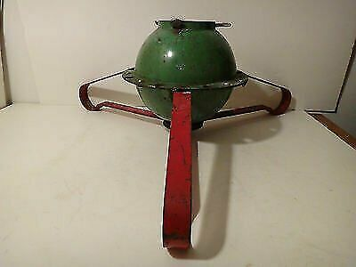 Mid Century Modern Vintage Atomic Cast Iron Christmas Tree Stand AMAZING
