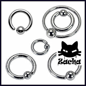 anneau piercing bille captive ring arcade oreille téton tragus helix nombril 177