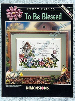 Cross Stitch Pattern To Be Blessed Home Family Blessing