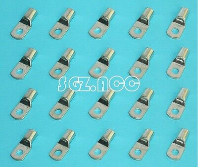 (20) 4 GAUGE 4 AWG X 3/8 in TINNED COPPER LUG BATTERY CABLE CONNECTOR TERMINAL