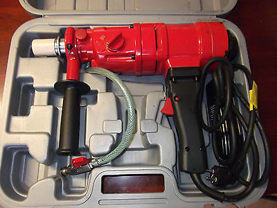 3 SPEED HAND HELD CORE DRILL - BRAND NEW with CASE