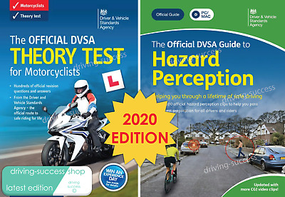 DVSA Motorbike/Motorcycle Theory Test Book and Hazard Perception DVD-ROM