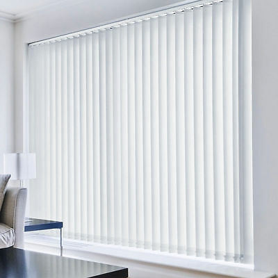 Complete Vertical Blind Sets - Many Sizes, Designs & Colours Available