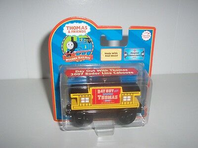 A Day Out With Thomas Wooden Train Sodor Line Caboose 2007 All Aboard Tour NIB