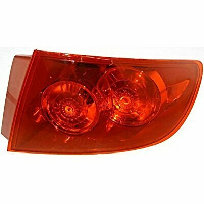 Fits 04-06 Mazda 3 Sedan Rt Pass Tail Lamp Assembly Quarter Mounted,red Lens