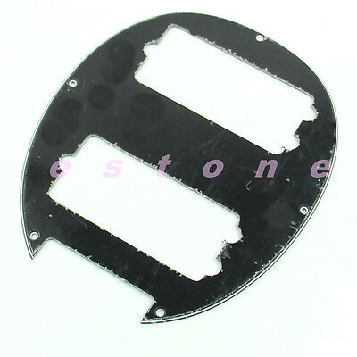 1pc Black 3PLY Humbucker Pickguard Hole For 5 String Electric Bass New