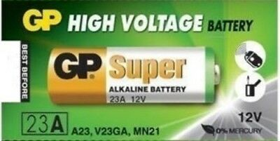 1 X GOLD PACK A23 12 Volt Battery MN21 MN23 23AE 21/23 GP23 23A 23GA EXP 2021