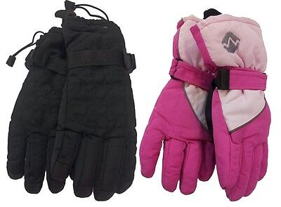 Ladies youth Technical  Outdoor Sports Water Resistant Warm Children Ski Gloves