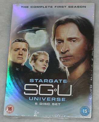 SGU: Stargate Universe - Complete Season Series One 1 - UK DVD Box Set - SEALED