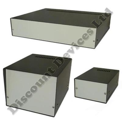 Aluminium Enclosure Project Desk Top Box For Electronic, Professional Quality!