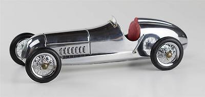 "1934 Mercedes Benz Silberpfeil (Silver Arrow) 12"" with Red Seat"