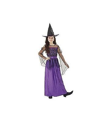 Totally Ghoul Mystical Witch  Dress Girl's Halloween Costume Size X-Large Nwt