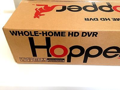 Dish Network Hopper Receiver 2 TB 2k-GB Black Model w Cables Dishnetwork System