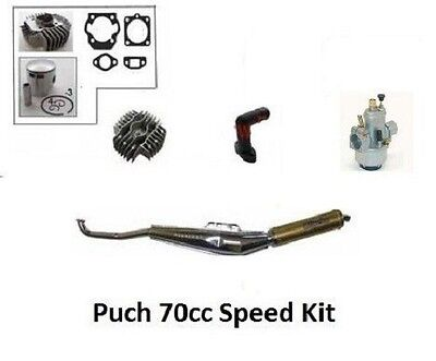 PUCH 70cc Big Bore Hi Performance Compl Engine Kit Maxi Sport Luxe Newport E50