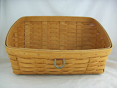 Longaberger Second Large Desktop Basket Sort & Store