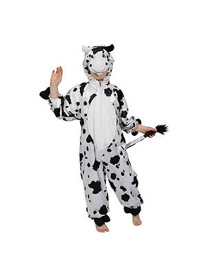 Child Cow Fancy Dress Costume Farm Animal Boys Girls Christmas Nativity Xmas