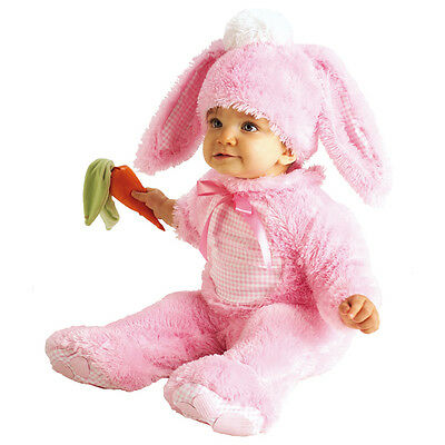 Child Precious Pink Wabbit Rabbit Outfit Fancy Dress Costume Bunny Kids Girls BN