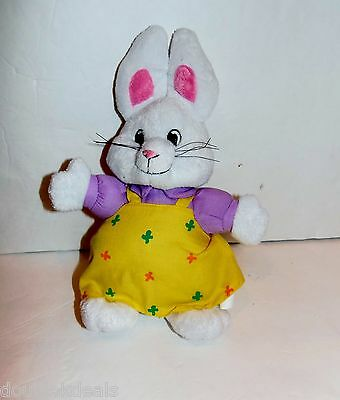 "Max And Ruby Plush Rabbit Bunny Doll - 11"" By Rosemary Wells"