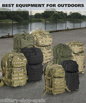 Mochila Militar Tactica De Asalto I Molle 30 Lts(13 Colores Disponibles )Airsoft