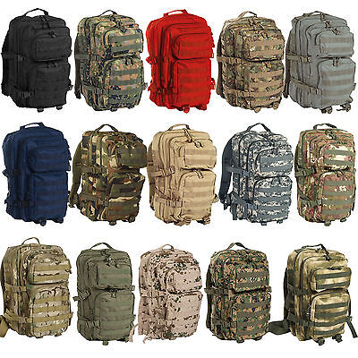 Mochila Militar Tactica De Asalto Ii Molle 50 Lts(9 Colores Disponibles )Airsoft