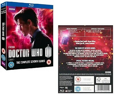 DR WHO 2011-2013 Series 7 Doctor Matt Smith + Amy + Clara Season RgFree BLU-RAY