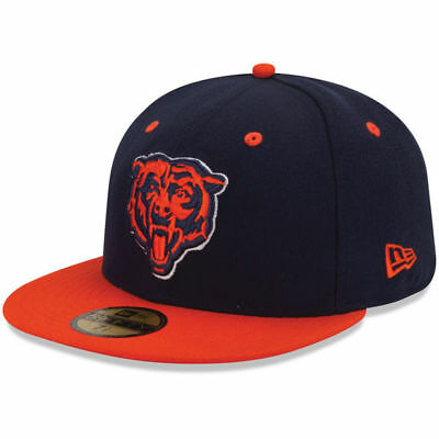 pretty nice a58ac 1b235 New Era 5950 CHICAGO BEARS 2 Tone Team Cap NFL Fitted Hat 2Tone 59Fifty  Football